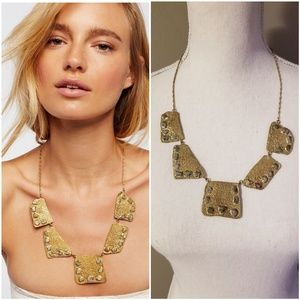 Free People Salt Flat Emerald Necklace